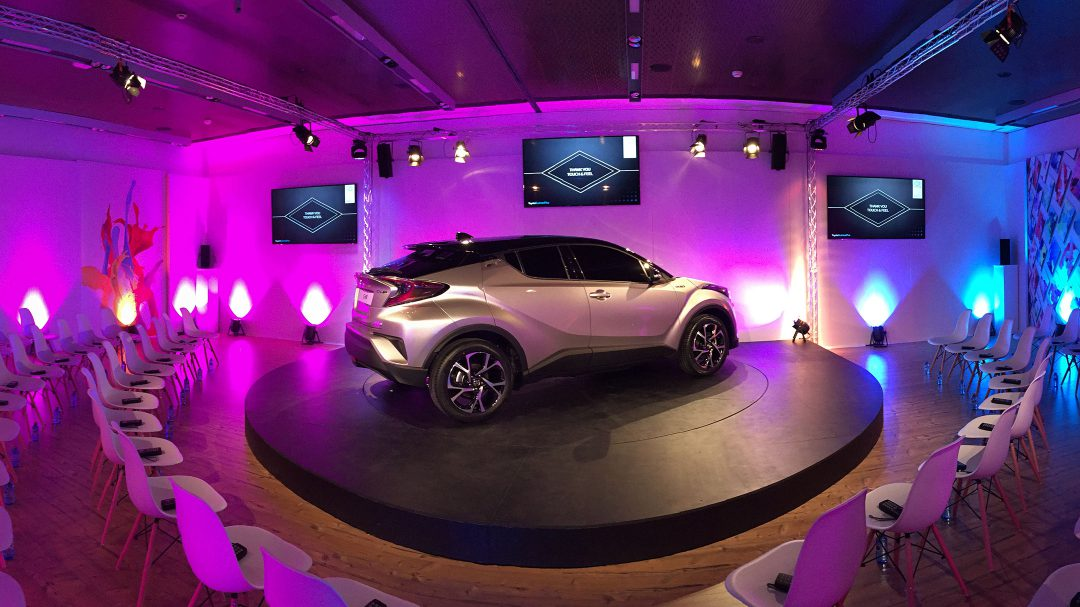 TOYOTA EUROPE / CHR Premiere 2019 / Madrid